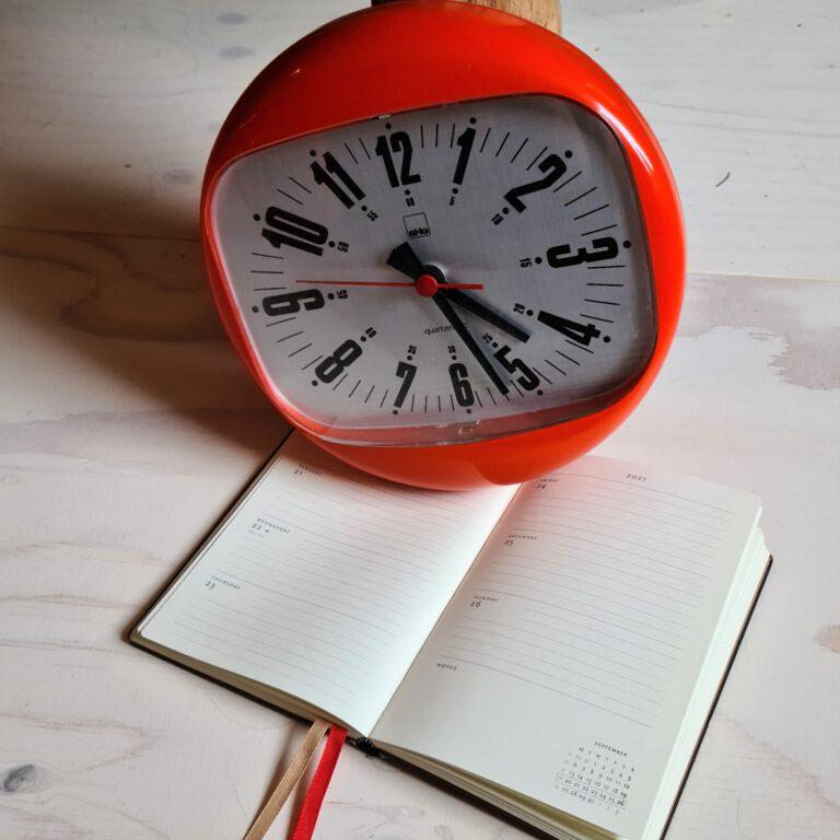 Agenda oma's klok